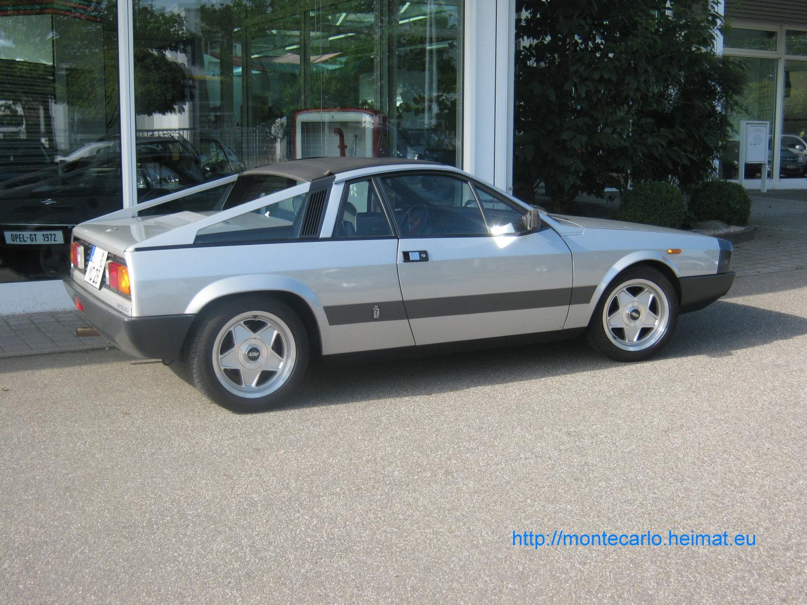 It's a 1982 Lancia Montecarlo,